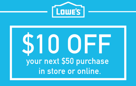 The most common online discounts are 10% off your order, and $10 off $ Exclusions may apply when using these online codes, but for the most part, they work sitewide. Lowe's coupons are shared frequently here on DealsPlus by our community of deal and coupon hunters.