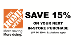 ONE (1X) 15% OFF HD Printable Coupon