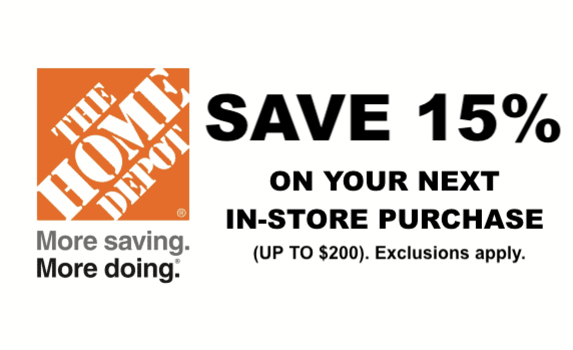 home depot printable coupons december 2018