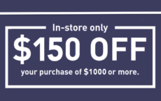 ONE (1X) $150 Off $1000 Printable Coupon